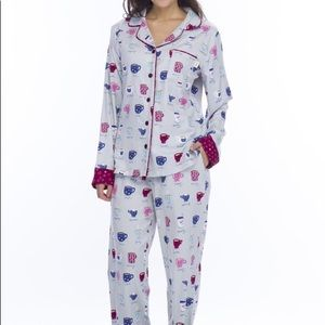 Munki Munki Coffee Pajama Set